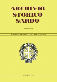 Archivio Storico Sardo - Volume n. XXXVIII - Deputazione di Storia Patria per la Sardegna