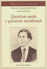 QUESTIONE SARDA E QUESTIONE MERIDIONALE - LORENZO DEL PIANO