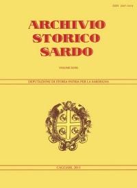 Archivio Storico Sardo - Volume n. XLVIII - Deputazione di Storia Patria per la Sardegna
